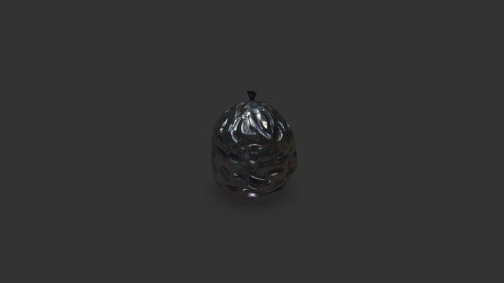 Binbag LowPoly 3D Model
