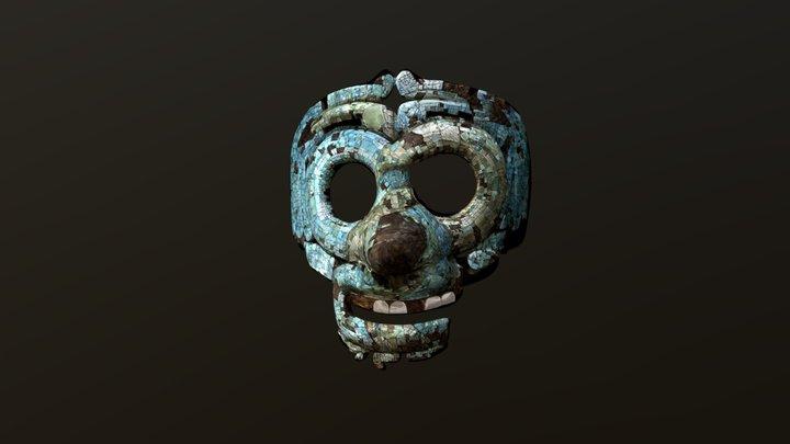 tlaloc mask 3D Model