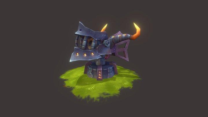 Dragon Cannon 3D Model