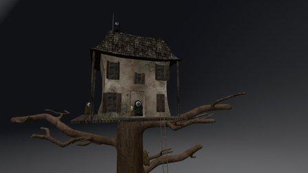 DARK HOUSE 3D Model