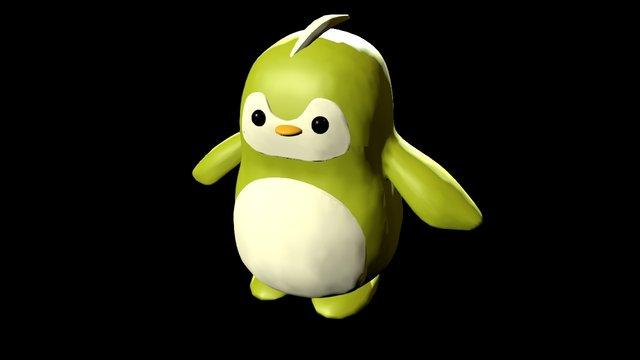Cheryl Little Penguin 3D Model