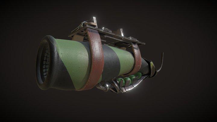 Plane_weapon_X_2 3D Model