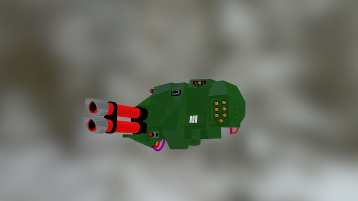Space Marine Dreadnought 3D Model
