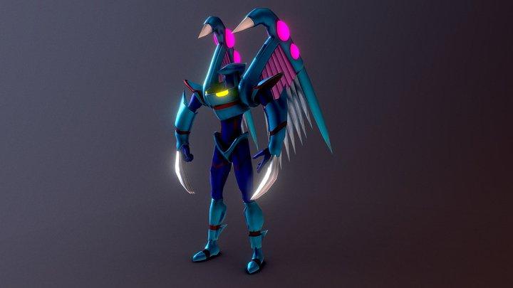 Elemental Hero Storm Neos (Yugioh) 3D Model