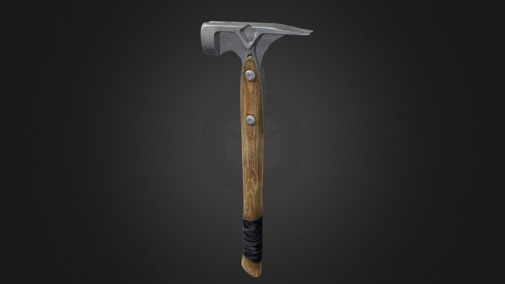 Rip Claw Hammer 3D Model