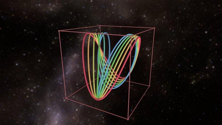 morphed curves 3D Model