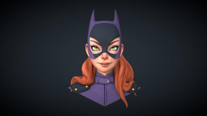 Batgirl Fanart 3D Model