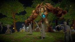 Solak, Guardian of the Grove - Runescape 3D Model