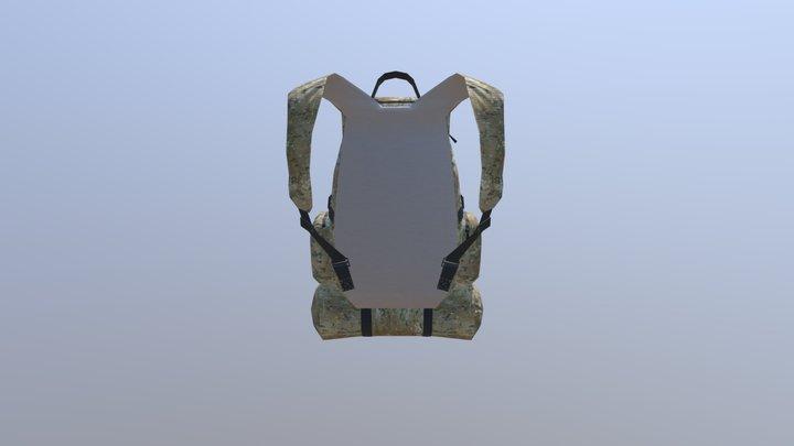 simple Backpack 3D Model