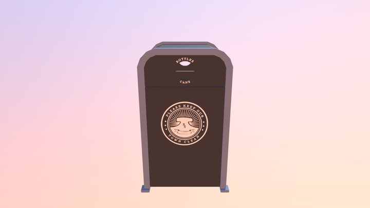 Radiator Springs Recycle Bin