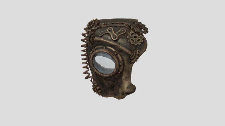 mask of Steam Punk 3D Model