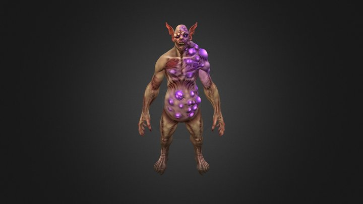 Ghoul Model - Xenolore 3D Model