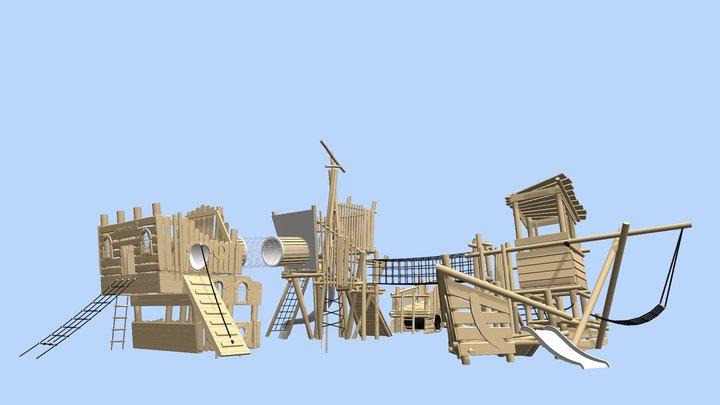 Hudson Way 3D Model