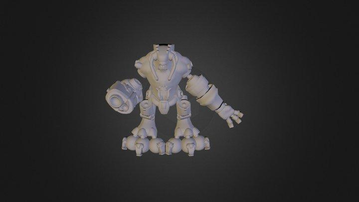 CyberDemon 3D Model