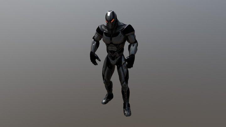 SciFi Enforcer Rick 3D Model