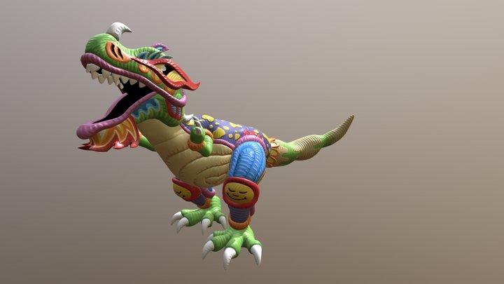 Positivasaurus 3D Model