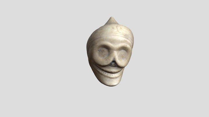 "Shell ""guaiza"" (mask) 3D Model"