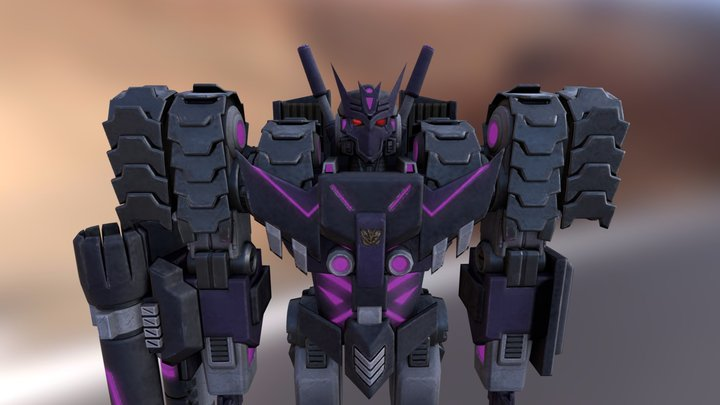 Tarn of the Decepticon Justice Division 3D Model