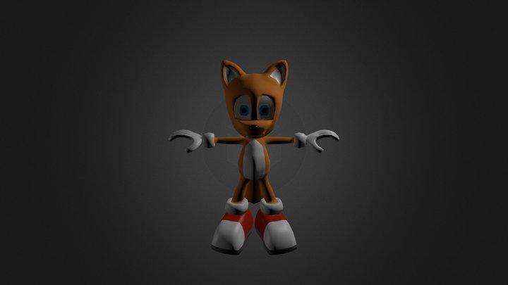 FoxTails 3D Model