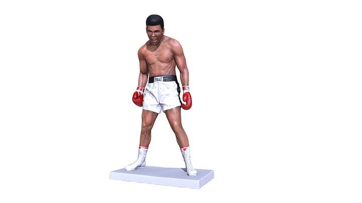 Muhammad Ali 3D Model