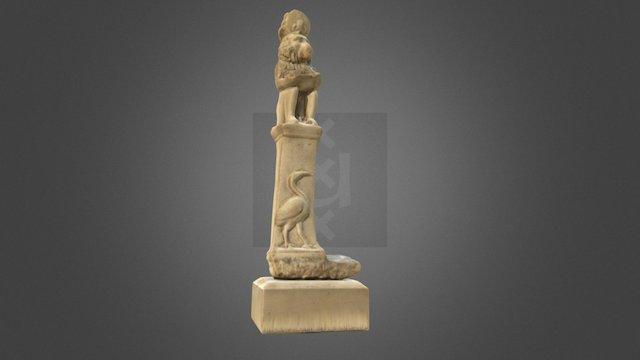 The moon god Toth 3D Model