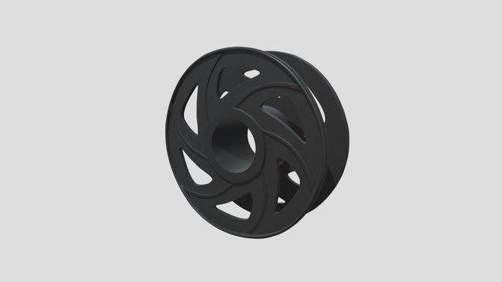 Filament Spool 3D Model