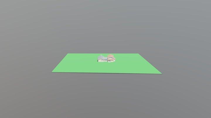 Hytte 3D Model