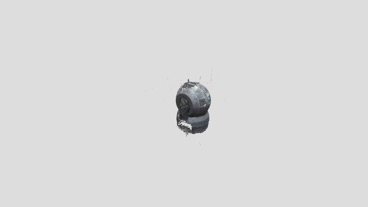Litter robot photogrammetry 3D Model