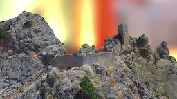 Castillo de Tíscar (Quesada, Jaén) 3D Model