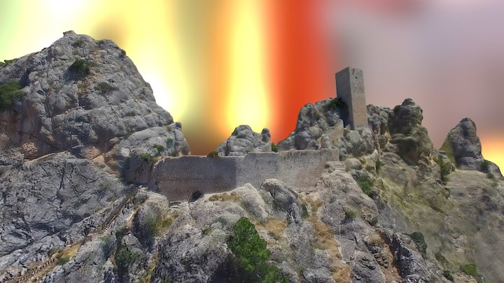 Castillo de Tíscar (Quesada, Jaén) 3D Model