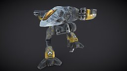 Nighthawk 3D Model