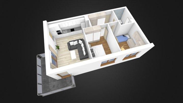 mieszkanie nr 28 3D Model