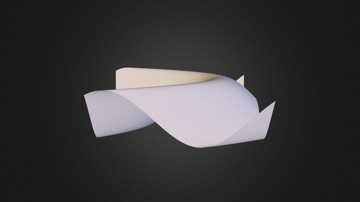 sin(x + y²) 3D Model