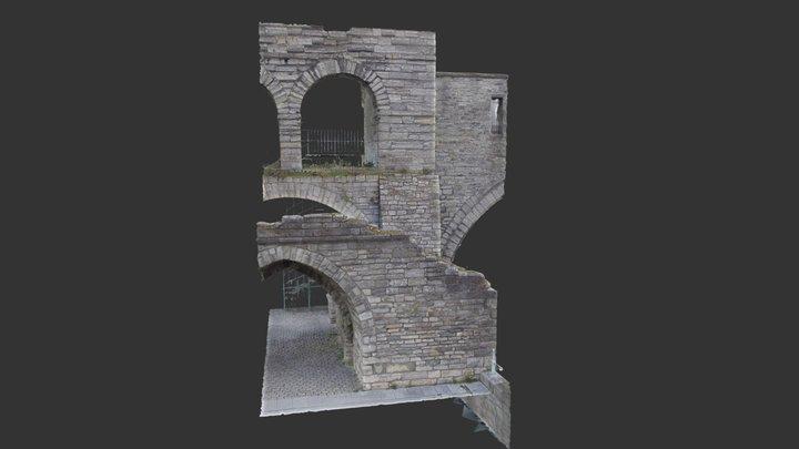 Pont des Trous Tournai 3D Model