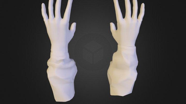 hand low 3D Model
