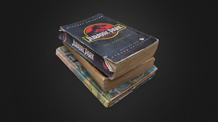 Childhood books 3D Model