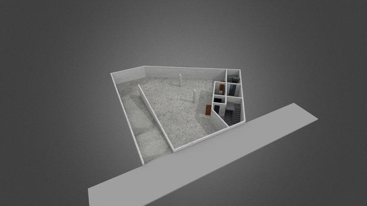 OumouInformatique etagesSS 3D Model