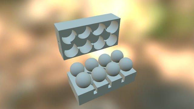 8x11 Sphere Case 3D Model