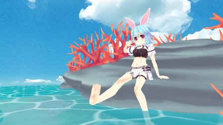 Bunny Summer 3D Model