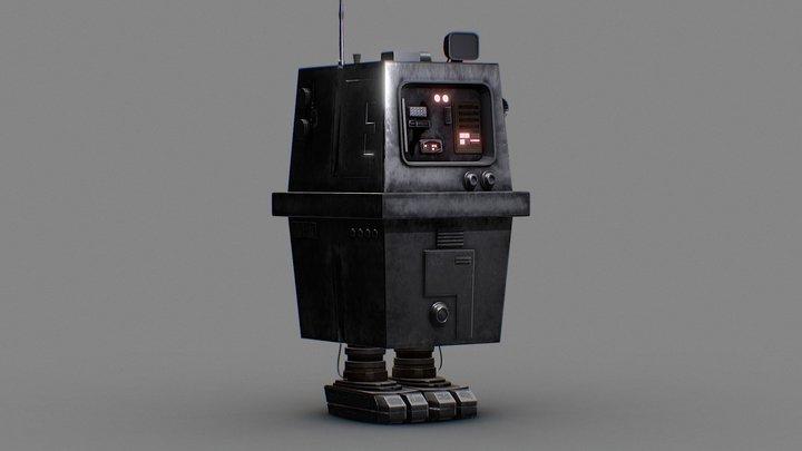 GNK Droid 3D Model