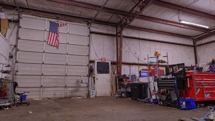 Car Garage 3D Scan 3D Model