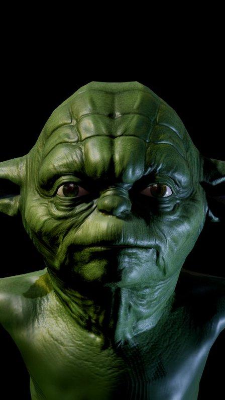 Yoda-test-01 3D Model