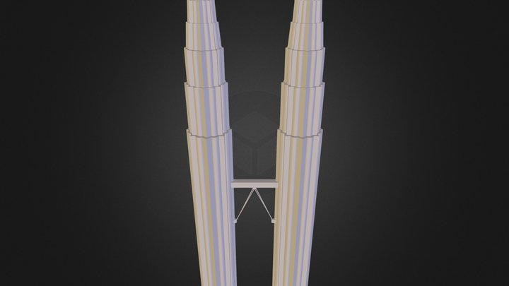 klcc_lores.3ds 3D Model