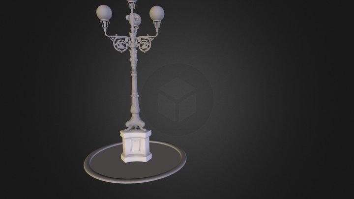 lampfloor.FBX 3D Model