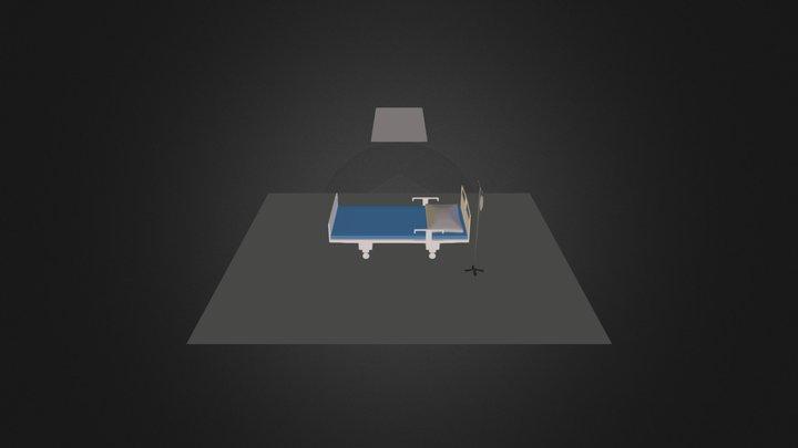 betterhospitalbed2.blend 3D Model