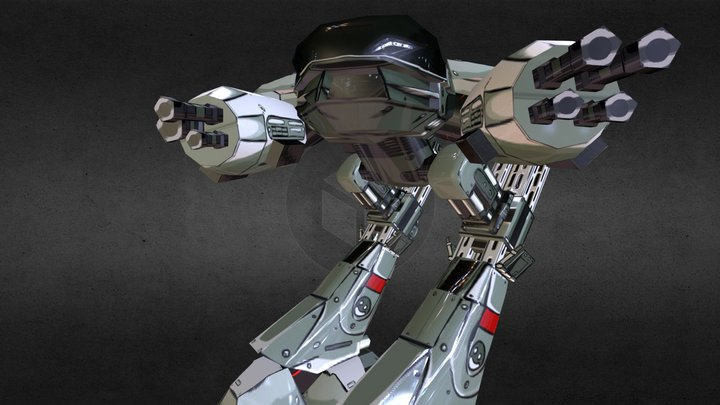 ed209 3D Model
