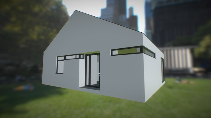 Casa tip 02 3D Model
