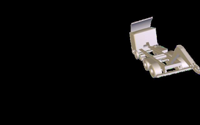 3D Cadworks-truck 3D Model
