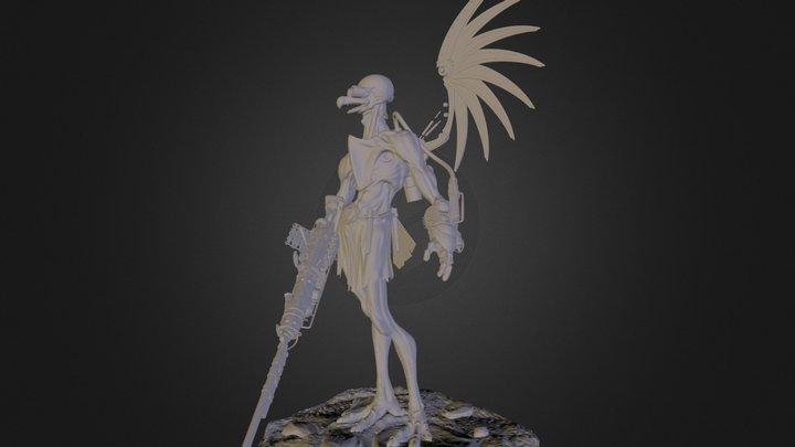 Vultureman 3D Model