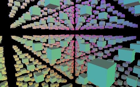 Color boxes 3D Model
